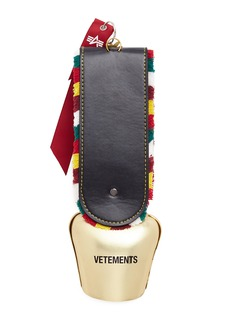 Vetements Fringed cow bell