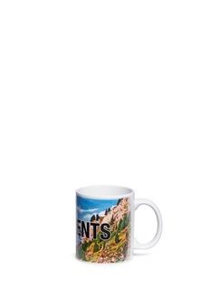 Vetements Matterhorn Zermatt print mug