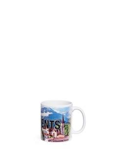 Vetements Interlaken print mug