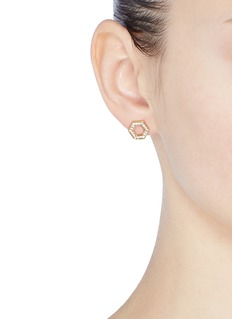 Michelle Campbell 'Honeycomb' stud earrings