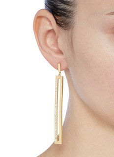 Michelle Campbell 'Coin Slot' drop earrings