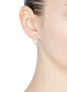 Michelle Campbell 'Shield' stud earrings
