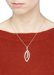 Michelle Campbell 'Leaf' pendant necklace