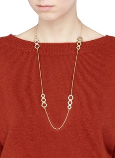 Michelle Campbell 'Honeycomb' station necklace