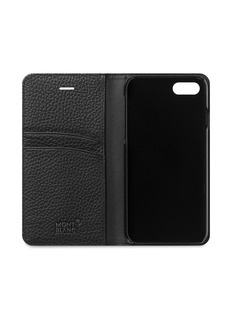 Montblanc Flipside leather iPhone 8 case