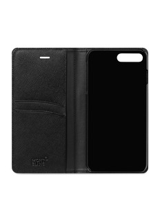Montblanc Flipside saffiano leather iPhone 8 Plus case