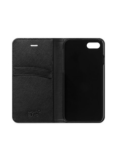 Montblanc Flipside saffiano leather iPhone 8 case