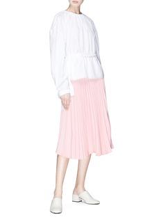 Par Minou Lulu's纯色百褶裙