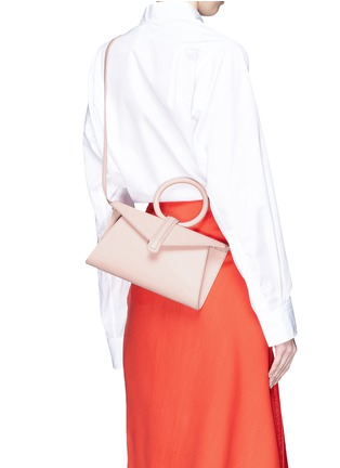 Front View - Click To Enlarge - Complét - 'Valery' mini leather envelope clutch