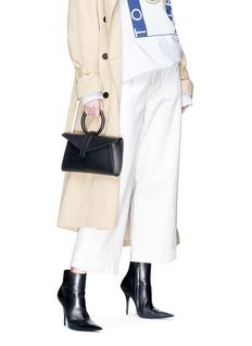 Complét 'Valery' mini leather envelope clutch