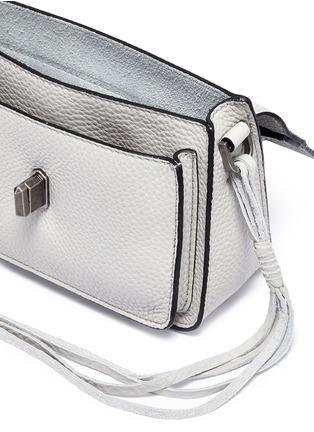 Detail View - Click To Enlarge - Rebecca Minkoff - 'Mini Darren' leather messenger bag