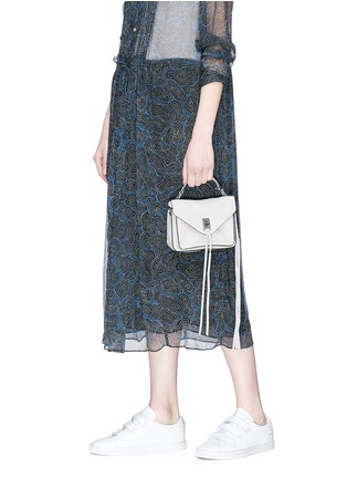 Front View - Click To Enlarge - Rebecca Minkoff - 'Mini Darren' leather messenger bag