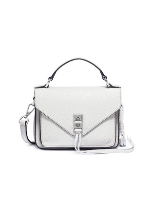 Main View - Click To Enlarge - Rebecca Minkoff - 'Mini Darren' leather messenger bag
