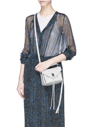 Figure View - Click To Enlarge - Rebecca Minkoff - 'Mini Darren' leather messenger bag