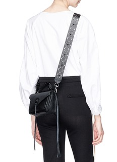 Rebecca Minkoff Stud guitar leather strap