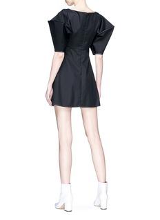 Ellery 'Utopian Fantasy' bubble sleeve poplin dress