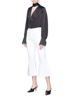Ellery 'Federico' split cuff flared suiting pants