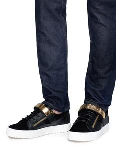 Giuseppe Zanotti Design 'Archer' calfskin leather sneakers