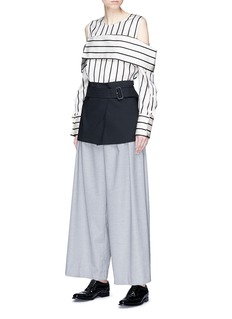 The Keiji Belted layered culottes
