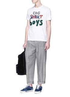 Comme Des Garçons Shirt Logo appliqué T-shirt
