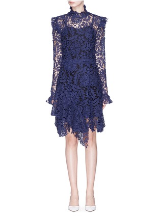 Main View - Click To Enlarge - Jonathan Liang - Broderie anglaise dress