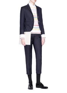 Thom Browne Colourblock stripe sweater