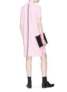 Thom Browne Stripe back polo dress