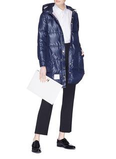 Thom Browne Detachable hood down puffer coat