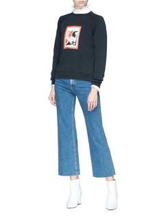 Alexa Chung 'Put a Spell on You' graphic print raglan sweatshirt