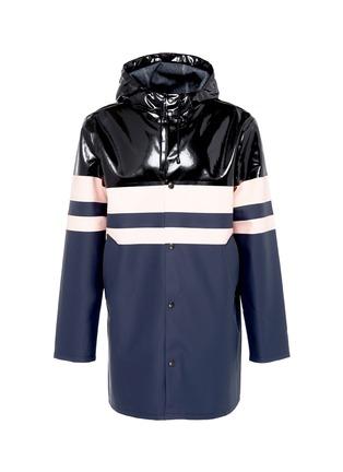 Main View - Click To Enlarge - Stutterheim - Stripe panelled unisex raincoat