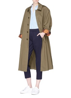 Barena 'Vaghezza' belted twill trench coat