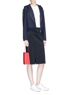 Barena 'Antonia' hooded cropped jacket