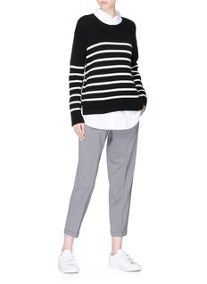 Barena 'Adele' cropped virgin wool suiting pants