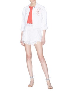 Isabel Marant 'Krista' broderie anglaise mini skirt