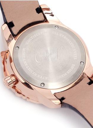 Galtiscopio-'La Giostra I' rocking horse crystal watch