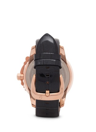 Back View - Click To Enlarge - Galtiscopio - 'La Giostra I' rocking horse crystal watch