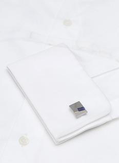 LANVIN 方钠石长方形袖扣