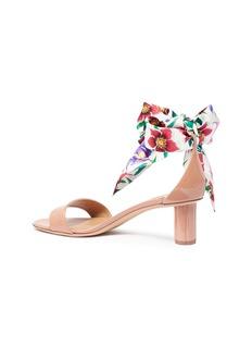 Salvatore Ferragamo 'Tursi' detachable ribbon ankle strap patent leather sandals