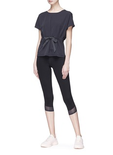 Particle Fever Drawstring waist performance top