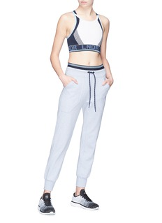 LNDR 'Synergy' contrast waist track pants