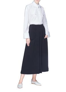 The Row 'Venna' sash tie culottes