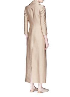 The Row 'Addy' silk coat