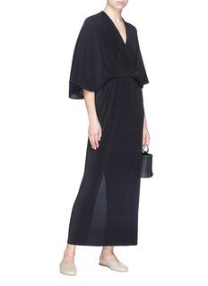 The Row 'Bello' pleated silk dress
