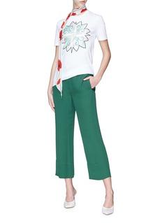 Emilio Pucci Flower appliqué T-shirt