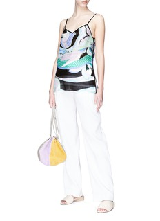 Emilio Pucci Graphic print tiered camisole top
