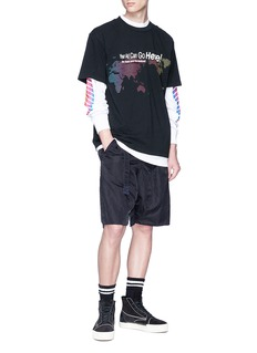 Alexander Wang  Slogan graphic print T-shirt
