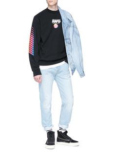 Alexander Wang  'AWG' logo print sweatshirt