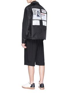 Alexander Wang  'NY Post' graphic print coach jacket