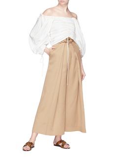 JH.ZANE 'Nadia' pleated culottes