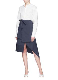 FFIXXED STUDIOS 不对称搭叠设计半裙